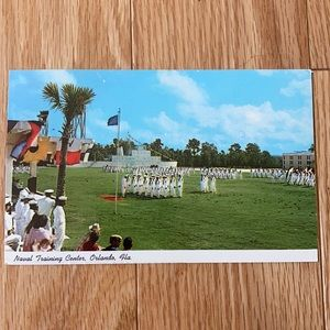 Naval Training Center Orlando Florida Postcard 77